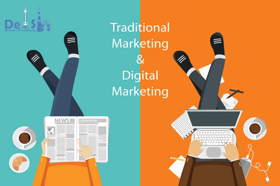Combination of Digital and Traditional Marketing Styles
